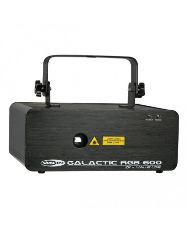 SHOWTEC Galactic RGB-600 Value Line 600mW Red/Green/Blue Laser