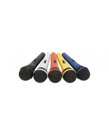 Qtx DM5X set of 5 coloured mics