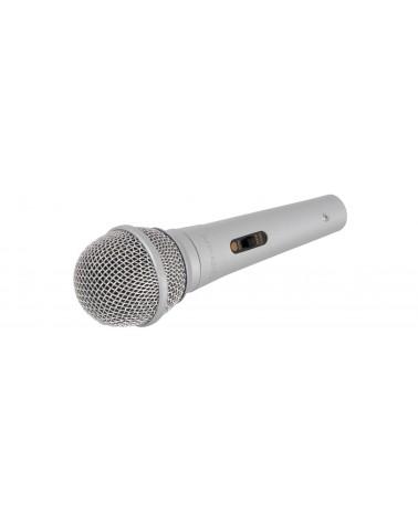 Qtx DM11S dynamic microphone - silver