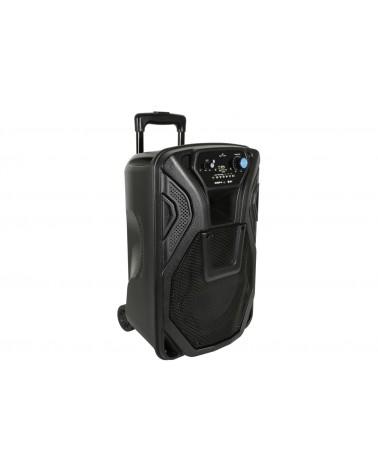 Qtx Busker-10 PA + 1 x VHF mics + USB/SD/FM/BT