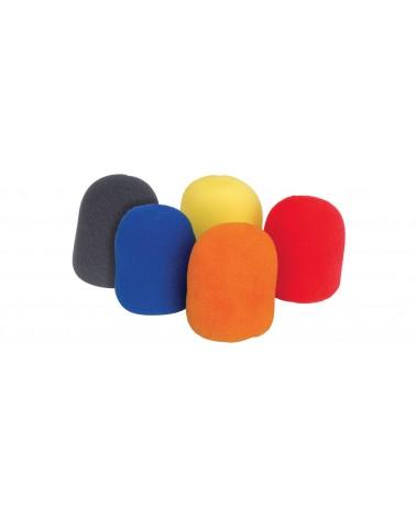 Qtx Microphone Shield 5pcs Colour
