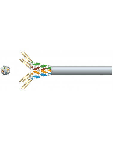 Mercury Cat5e U/UTP Network Cable 305m Grey