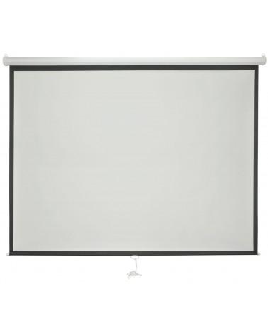 "Avlink 100"" 4:3 Manual Projector Screen"