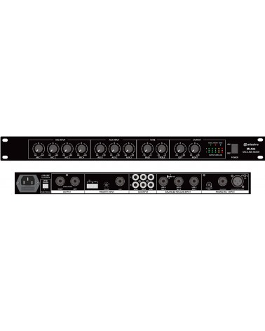 Adastra ML432 mic/line rack mixer