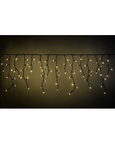 Lyyt 100 LED Connectable Icicle String Light WW
