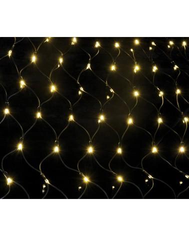 Lyyt 144 LED Connectable Net Light WW