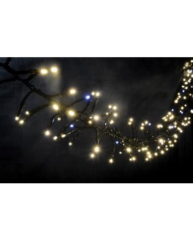 Lyyt 240LED Static Twinkle Cluster Light WW