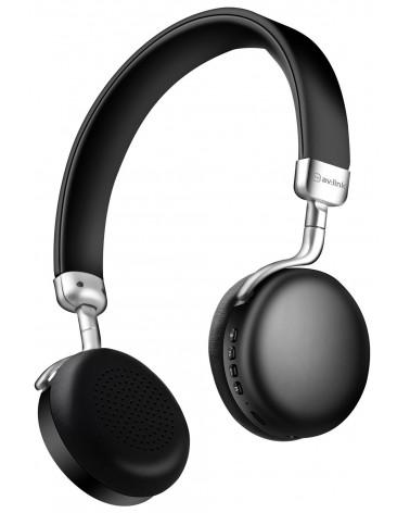 Avlink Metallic Bluetooth Headphones Black
