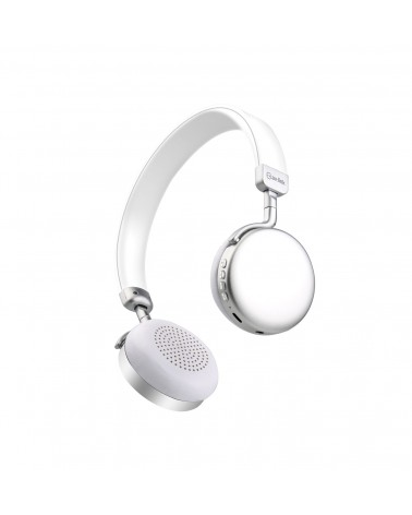 Avlink Metallic Bluetooth Headphones  Silver