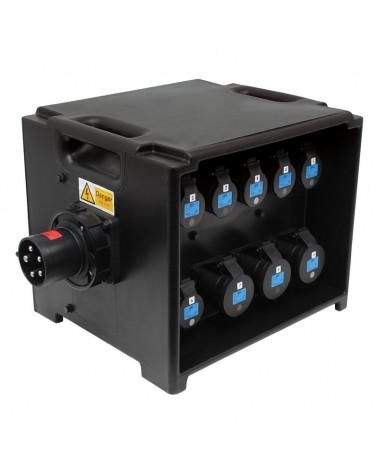 MERZ Distribution Box 63A 3PH RCBO (A80BLK)
