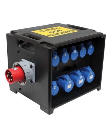 MERZ Distribution Box 63A 3PH RCD/MCB (A81)