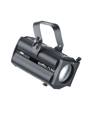 SOFFIO F150 Discharge 150W Fresnel, Black