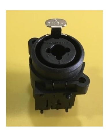 Mackie SRM350v1 Neutrik XLR Combo input 9 pin socket 0026265