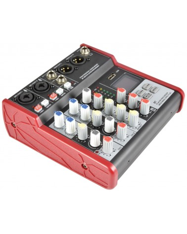 Citronic CSM-4 Mixer with USB / Bluetooth Player