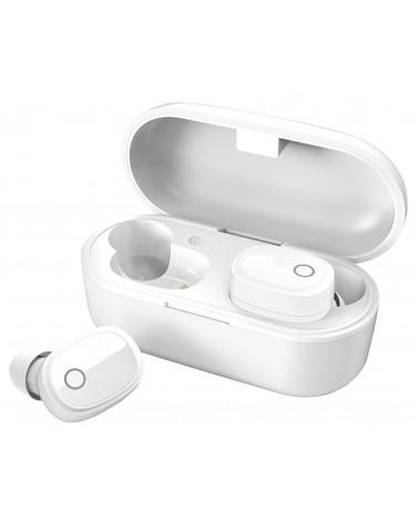 Avlink True Wireless Bluetooth Earphones & Charging Case White
