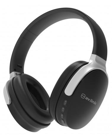Avlink Over-Ear Wireless Bluetooth Headphones Black