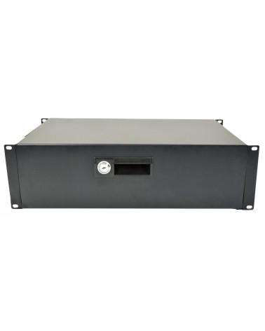"Adastra 19"" Lockable Rack Drawer 3U"