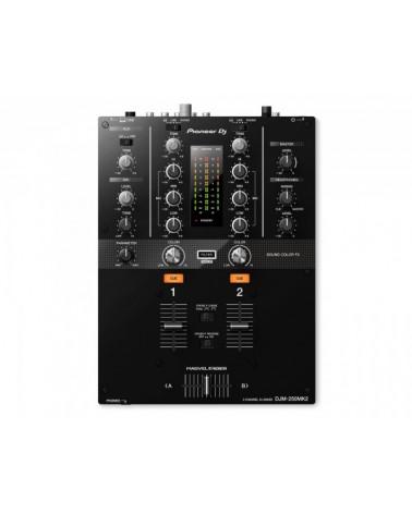 DJM-250MK2 2Ch DJ Mixer with USB & On-Board Effects BLACK