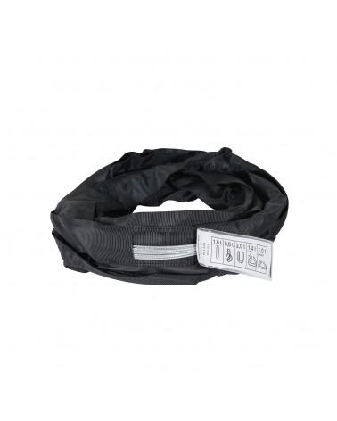 Black Softsteel 1 Ton WLL, Working Length 3m