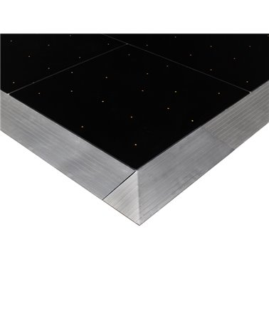 Black RGB Starlit Dance Floor System 12ft x 12ft