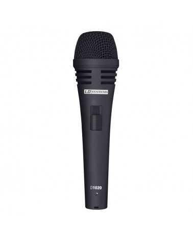 LD Systems D 1020 - Dynamic Vocal Microphone with Switch