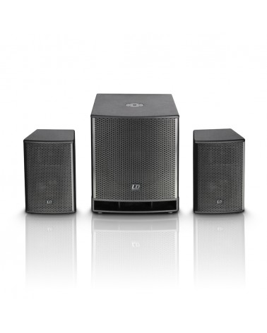 "LD Systems DAVE 15 G³ - Compact 15"" powered PA System"