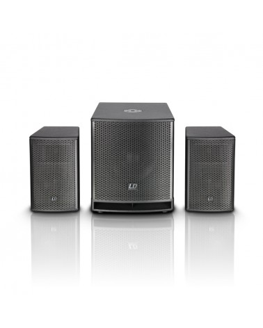 "LD Systems DAVE 12 G³ - Compact 12"" powered PA System"