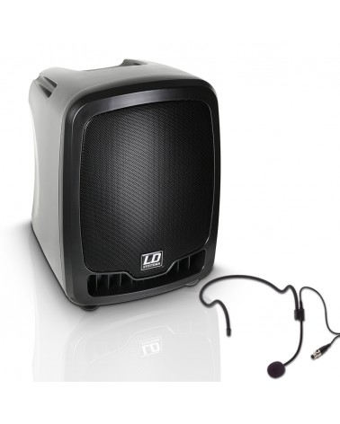 LD Systems Roadboy 65 HS - Portable PA Speaker with Headset
