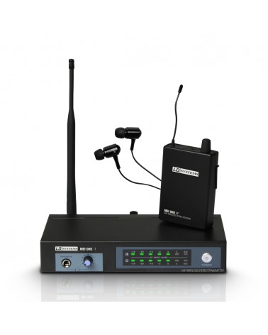 LD Systems MEI ONE 3 - In-Ear Monitoring System wireless 864,900 MHz