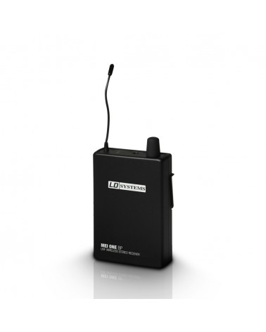 LD Systems MEI ONE 1 R - Receiver for LD MEI ONE 1 In-Ear Monitoring System wireless 863,700 MHz