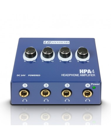 LD Systems HPA 4 - Headphone Amplifier 4 Channels