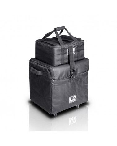 LD SYSTEMS DAVE 8 SET 1 - TRANSPORT BAGS WITH WHEELS FOR DAVE 8 SYSTEMS