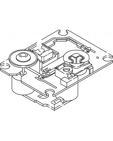 Pioneer CDJ-800 CD MECH ASSY DXA-DA114