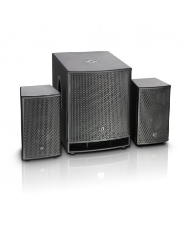 """LD Systems DAVE G3 Series - Compact 18"""" Active PA System"""