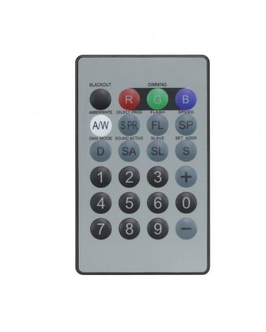 LEDJ IR Remote for LEDJ Quad Fixtures (RGBW/RGBA)