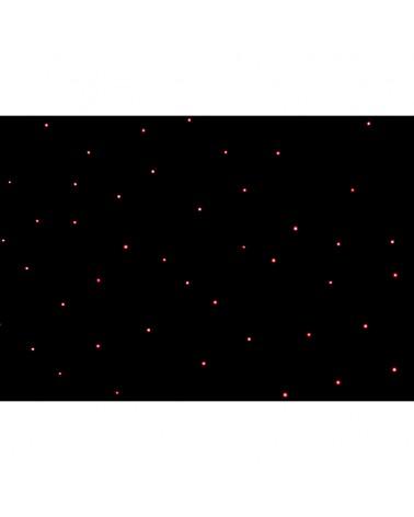 LEDJ 3 x 2m Tri LED Black Starcloth System