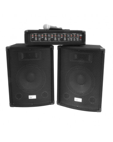 W Audio Gig Rig Performer 200W PA Package
