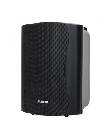 Clever Acoustics WPS 35 Black 8 Ohm Weatherproof Speakers (Pair)