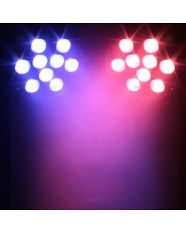 LEDJ Intense 9P10 RGBWA LED Slim Par