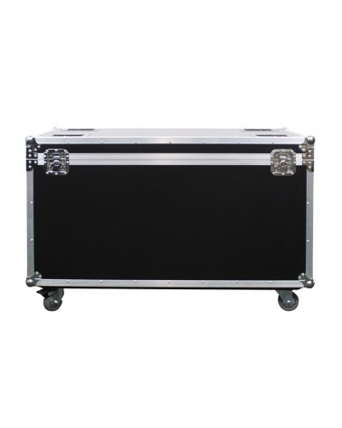 eLumen8 Flight Case 6pcs LED Matrix Tri/White Pixel Panel 25