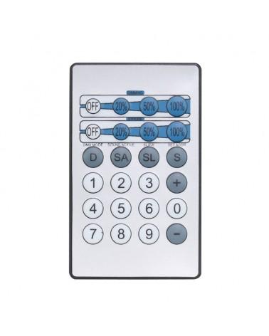 LEDJ IR Remote for LEDJ CW, WW and UV Fixtures