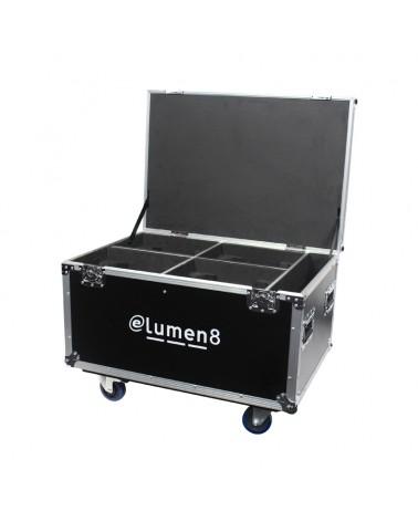 eLumen8 Quad Kudos CM 200 Flight Case