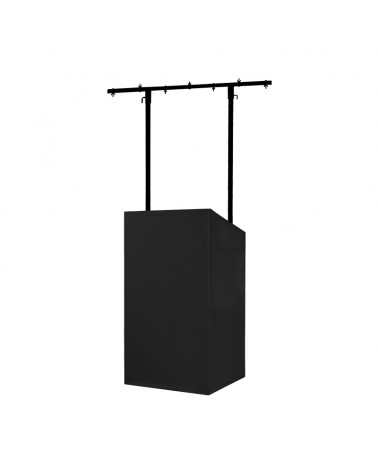 Equinox MICRON DJ Booth Black Professional Cloth