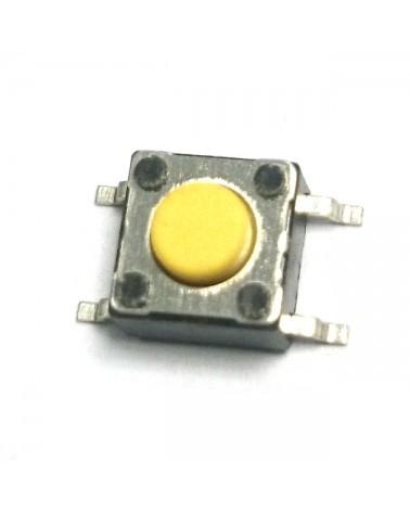 Numark MIXDECK NDX800 Yellow 4-Pin Tactile Switch