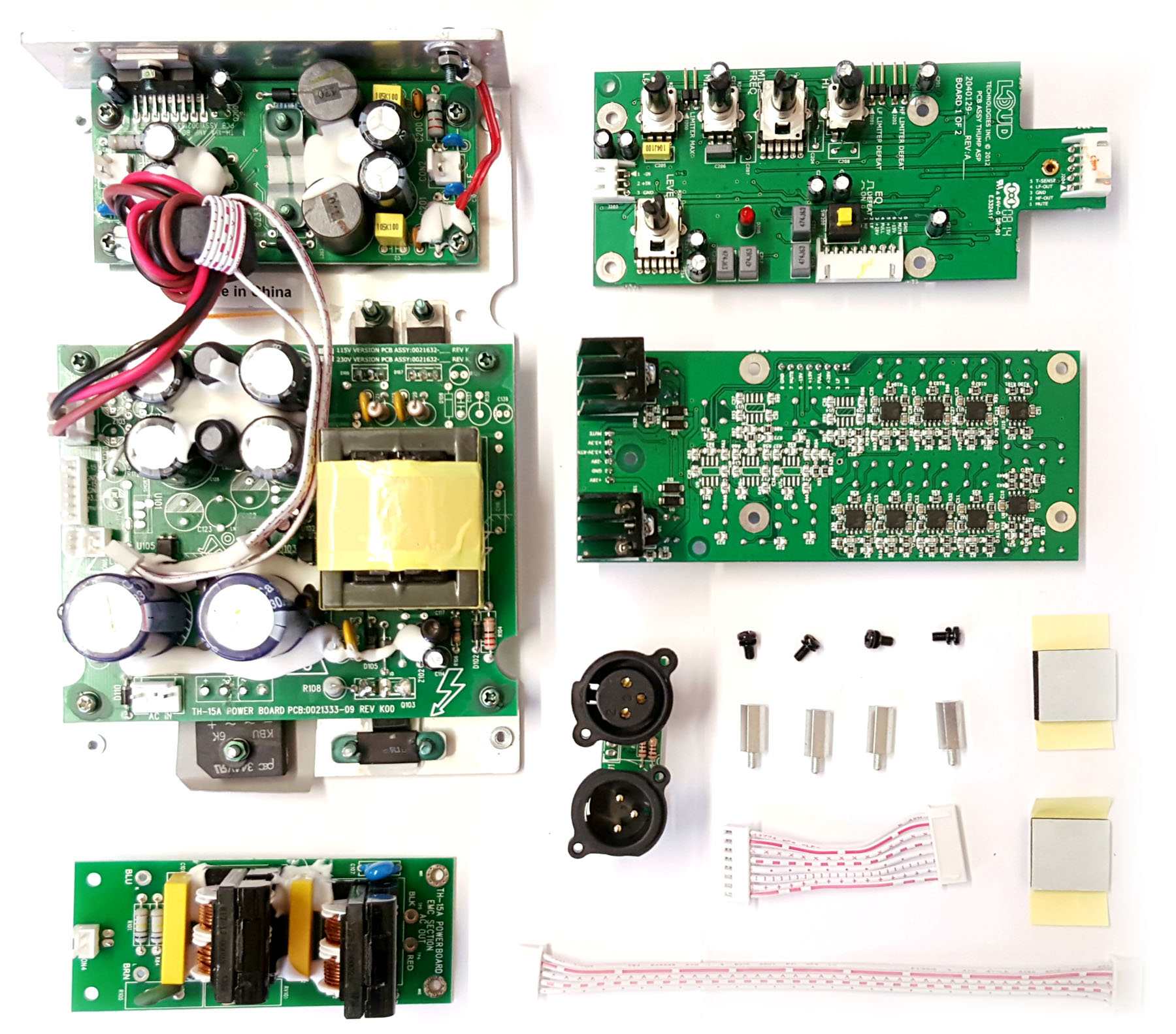 Mackie Thump Th 12a Digital To Analog Rework Kit Circuit Board Picture Frames Pcb Printed Boards Pinterest