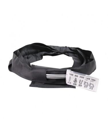 ELLER Black Softsteel 1 Ton WLL, Working Length 1m