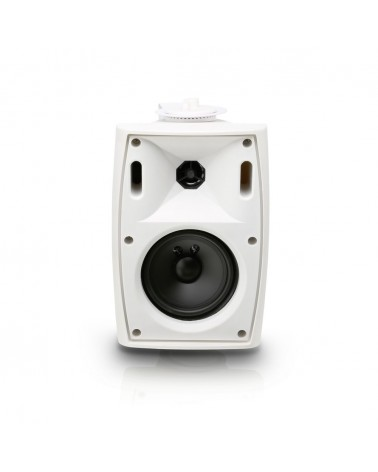 """LD Systems Contractor WMS 42 W 100 V - 4"""" 2-way Wall Mount Speaker 100 V white (pair)"""