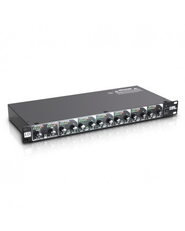 "LD Systems MS 828 - 19"" 8-Channel Splitter/Mixer"