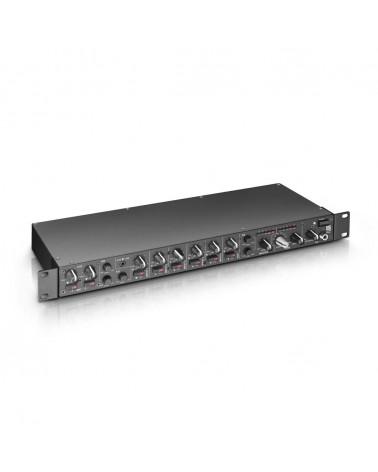 "LD Systems ZONE 622 - 19"" 2-Zone Mixer 1U"