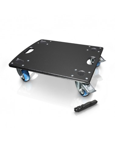 LD Systems DAVE GT 15 CB - Castor Board for LDDAVE15G3 and LDGTSUB15A incl. Lashing Strap
